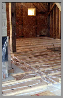 Radiant In Floor Heating Services Wisconsin Dells